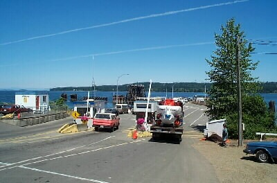 Ferry at Buckley Bay