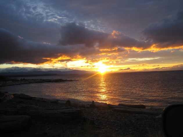 Sunset at Grassy Point