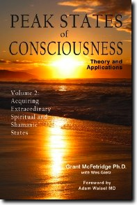 cover Volume 2 of Peak States of Consciousness